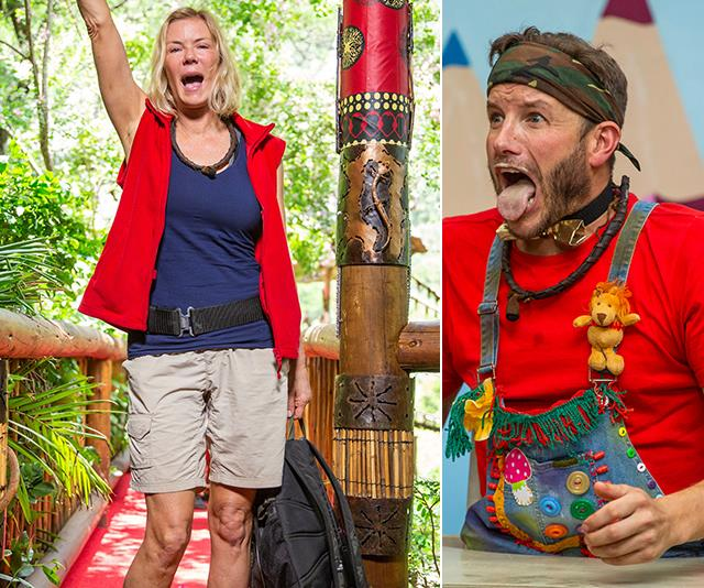 The perils of the I'm A Celeb jungle aren't anything to sneeze at. *(Images: Network Ten)*