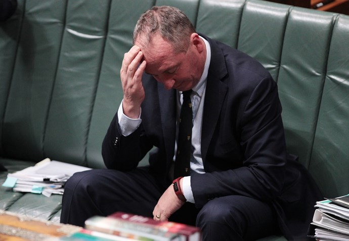 Natalie admits there was a part of her that wanted to pick up the pieces when Barnaby crumbling. *(Image: Getty)*