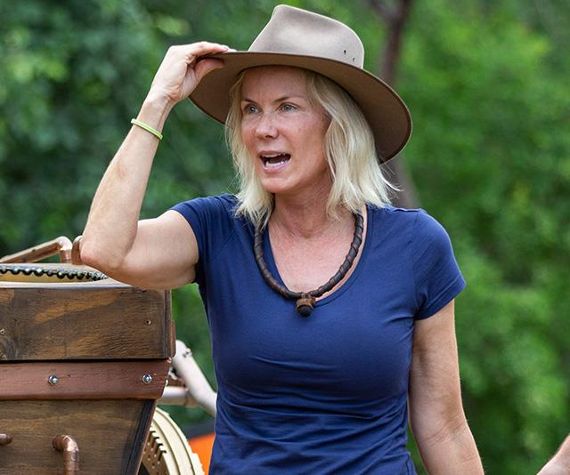 To her dismay, Katherine's skincare regime was put on hold in the jungle! *(Image: Network Ten)*