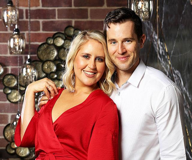 Matt and Lauren shared an instant bond but it failed to last. *(Image: Channel Nine)*