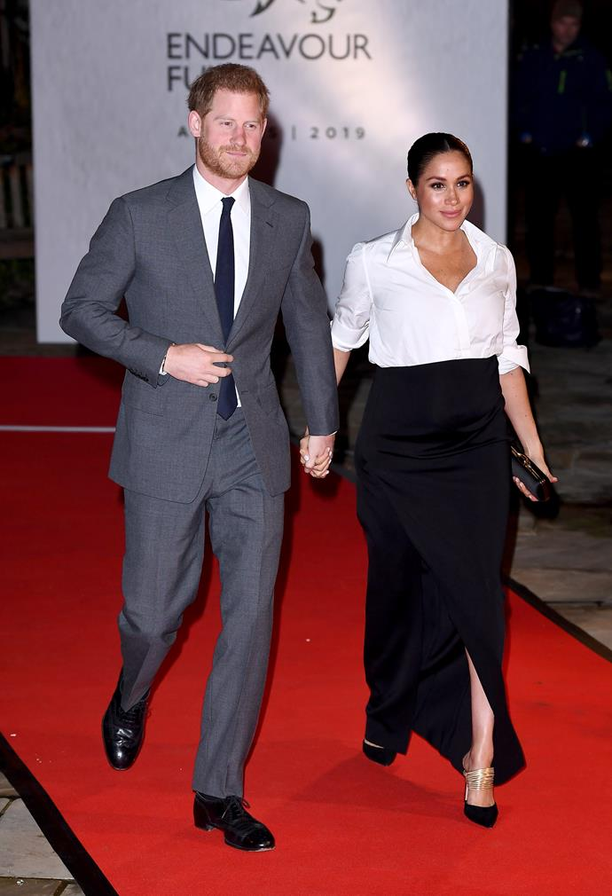 The couple stunned on the red carpet. *(Image: Getty)*