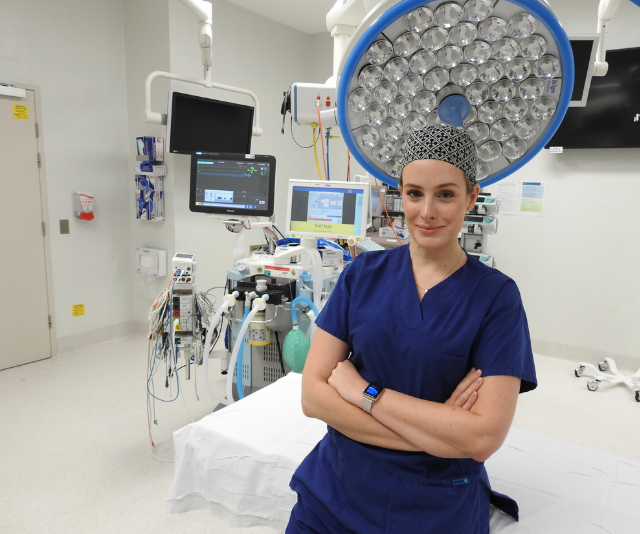 OPERATION: LIVE will also feature expert commentary from cardiothoracic surgeon Dr Nikki Stamp who will explain the stages of the operation as they happen. *Image: Supplied.*