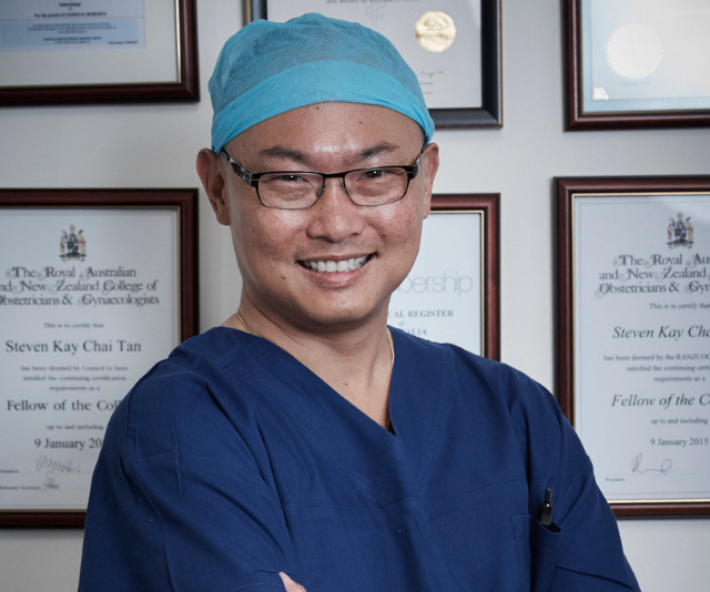 The operation will be performed at Sydney's Mater Hospital on Sunday, February 10 by leading obstetrician and gynaecologist, Dr Steven Tan. *Image: Supplied.*