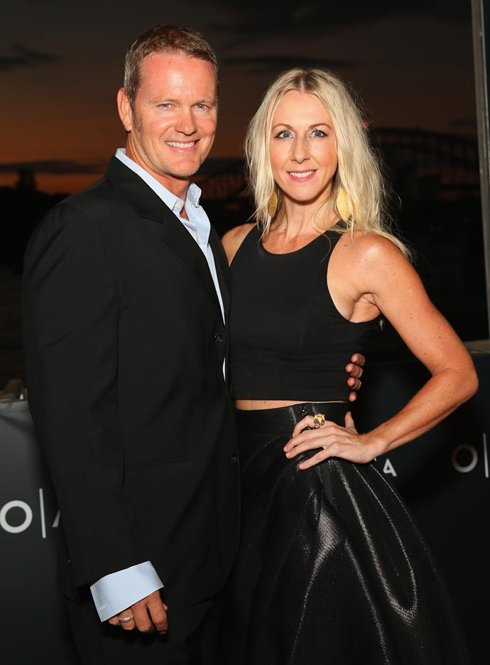 Craig McLachlan and his partner Vanessa. *(Image: Getty)*