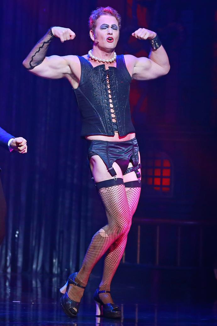 Craig as Frank-N-Furter in The Rocky Horror Picture Show. *(Image: Getty)*