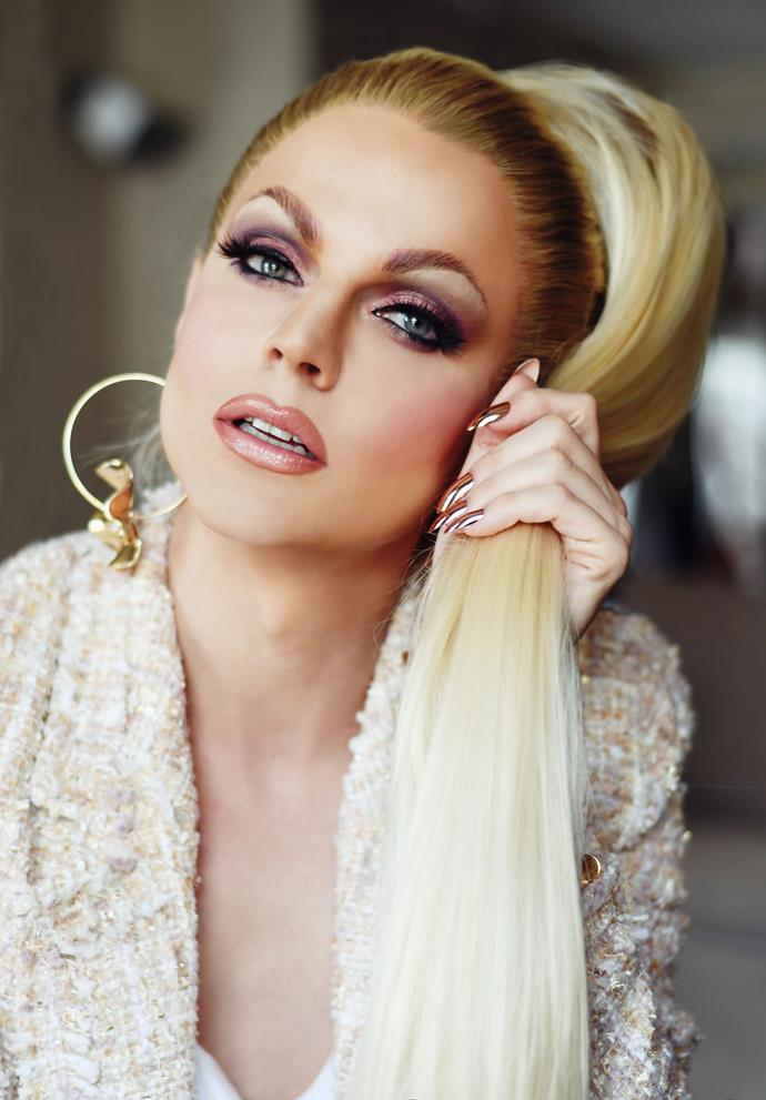 "**Courtney Act** <br><br> Legendary drag queen and reality TV star (*Australian Idol, The Bi Life*) is one of Australia's glamorous Eurovision 2019 hopefuls. <br><br> ""A sweet 16 years after *Australian Idol* I have the chance to show Australia how I have grown as an artist and a performer and I am so excited,"" Courtney says.  <br><br> ""To compete to represent Oz in Eurovision is second only to being on that stage in Tel Aviv and singing my lungs out for my country. I've sat at home every year since Guy Sebastian competed in 2015 and have been so keen to be a part of it. Now, this might be my chance!"""