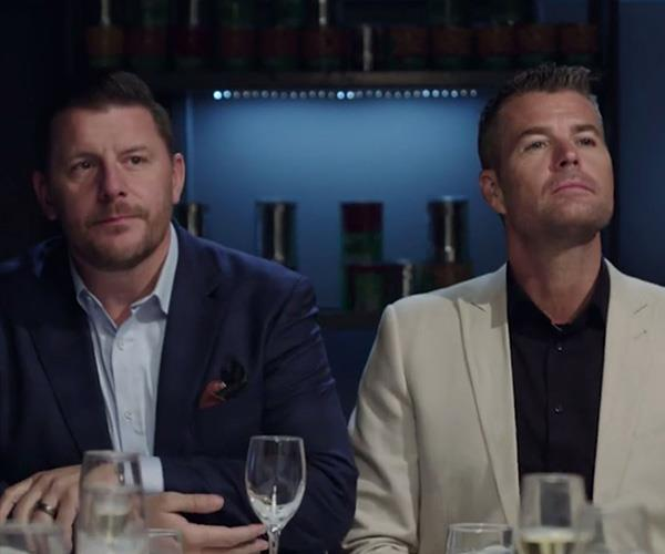 """Pete and Manu were disgusted about the condition of the house."" *(Image: Channel Seven)*"