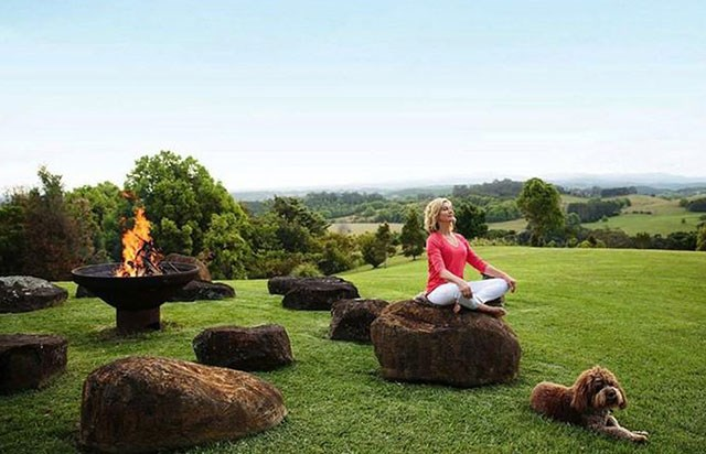 "The 70-year-old says her Gaia retreat possesses a ""magical quality."" *(Image: gaiaretreat.com.au)*"