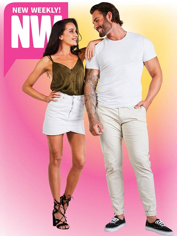Get ready to see sparks fly between Ines and Sam! *(Image: Supplied)*