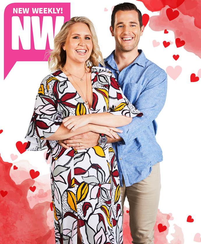 Baby on the way! Matt and Lauren can't wait to be parents. *(Image: Exclusive to NW)*