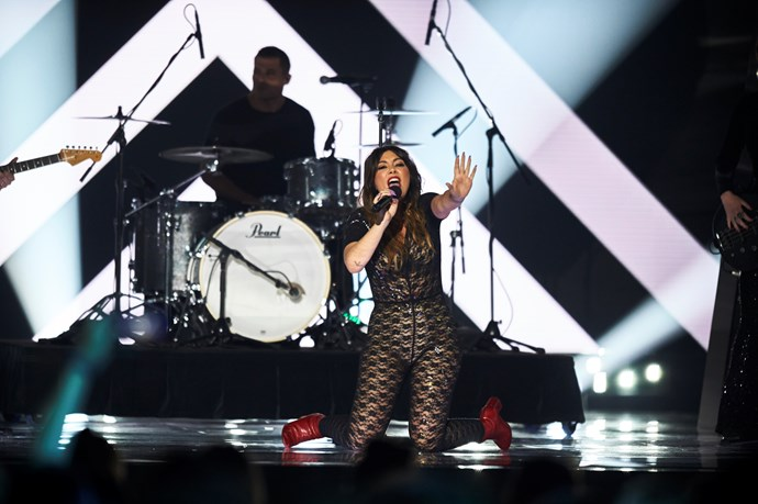 Ella brings an exciting rock element to Eurovision - Australia Decides (Image: SBS).