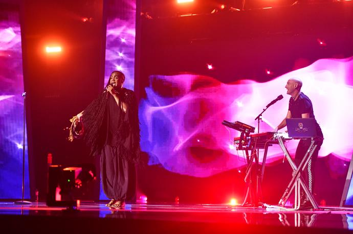 Electric Fields are excited to perform the song (Image: SBS).