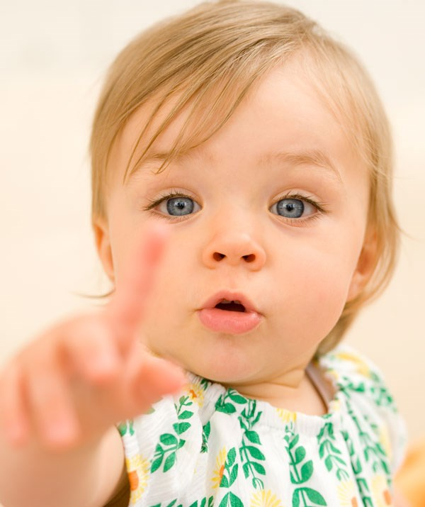 One word by one year old is a general rule when it comes to baby talk. *(Image: Getty Images)*