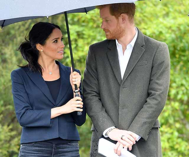 Meghan wrote that her father had snubbed Harry's offers of help. *(Image: Getty)*
