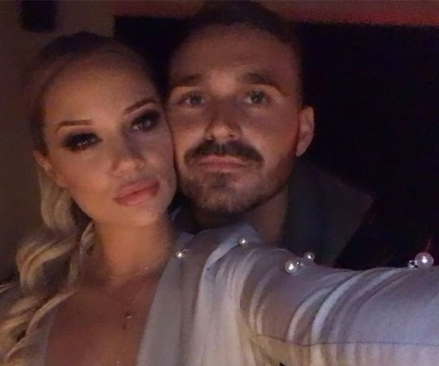 Look away, Mick! Jessika cosies up to *Love Island*'s Eden Dally. *(Image: Instagram)*