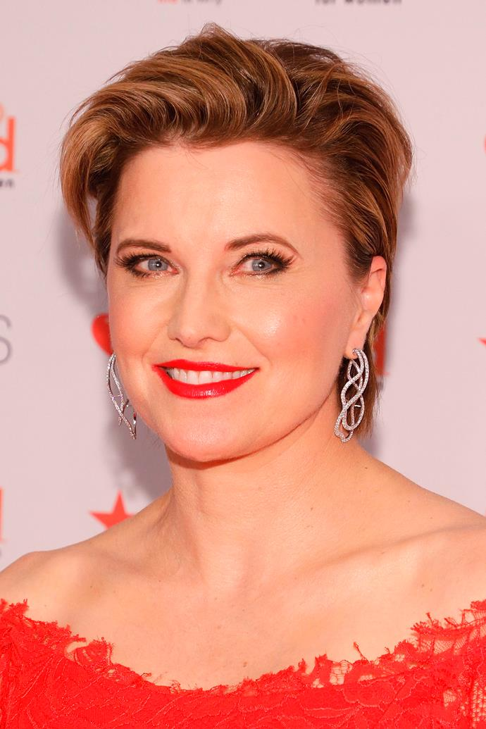 Lucy Lawless is heaindg to Australian screens (Image: Getty).