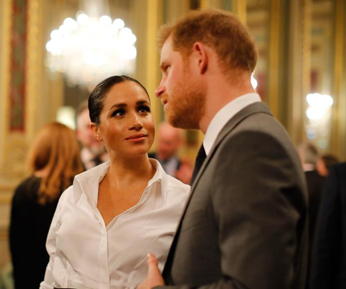 She and Harry are preparing to move into their new Windsor home, Frogmore Cottage. *(Image: Getty)*