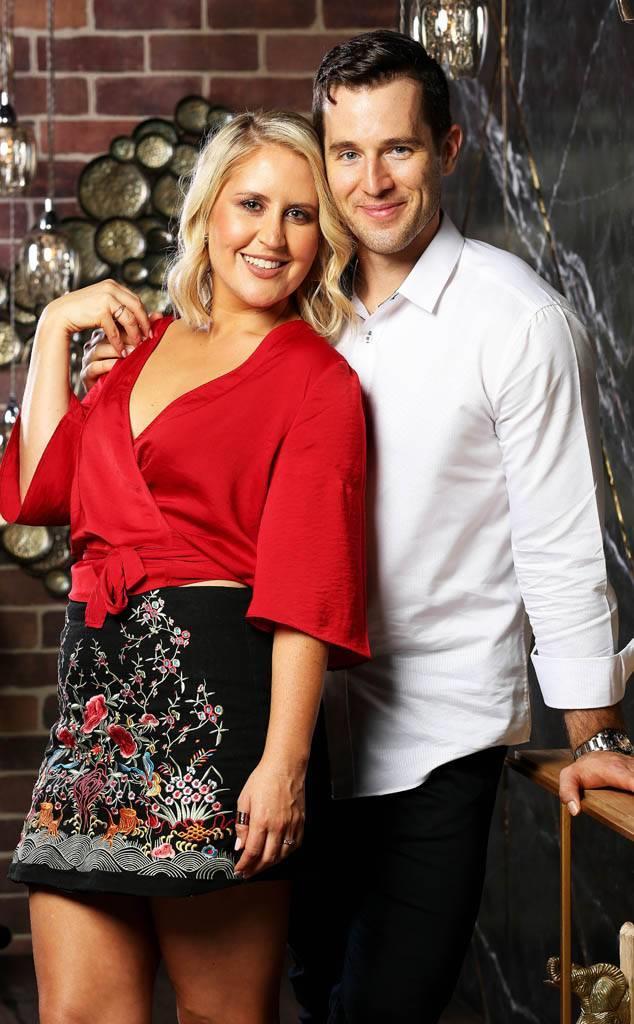 Matt and Lauren in happier times. *(Image: Channel Nine)*