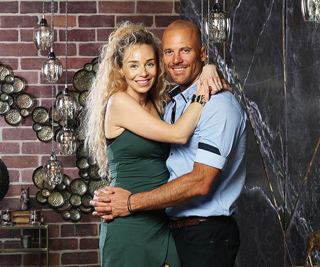 Mike, pictured with TV wife Heidi, is one of the most confident stars of the season. *(Image: Channel Nine)*