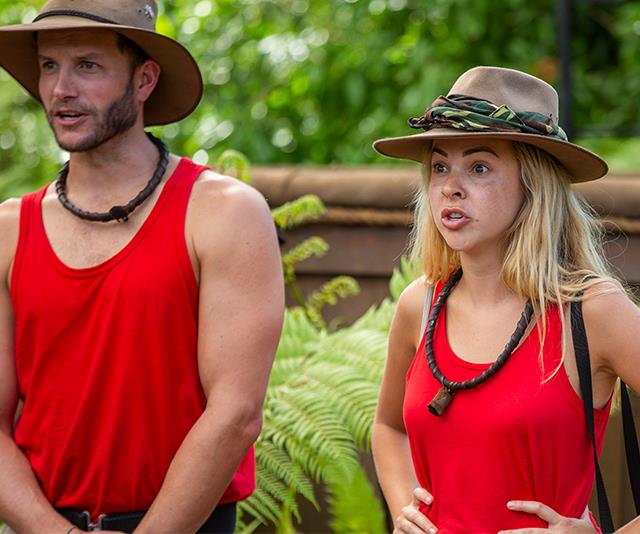 Angie was put through her paces in the *I'm A Celeb* jungle. *(Image: Network Ten)*