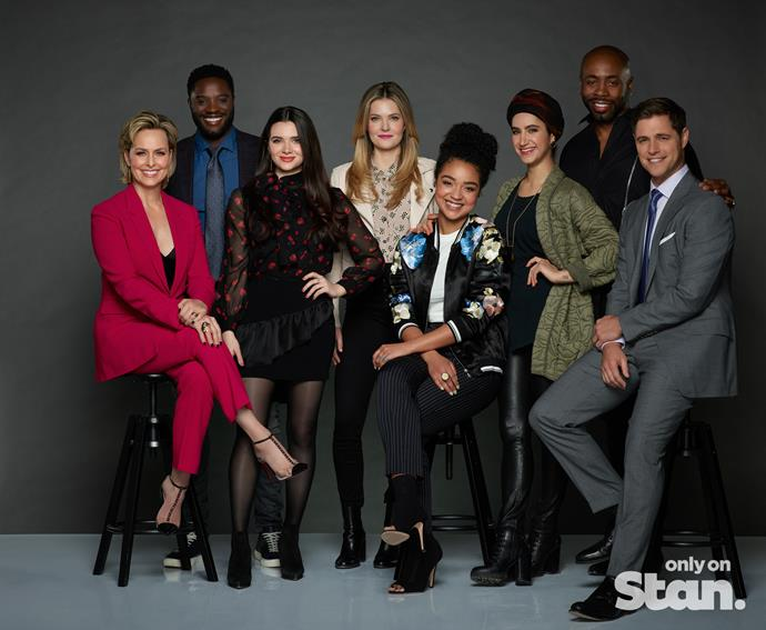 The cast of *The Bold Type.*