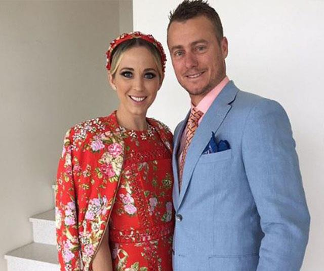 It's love all for Bec and Lleyton. *(Image: Instagram)*
