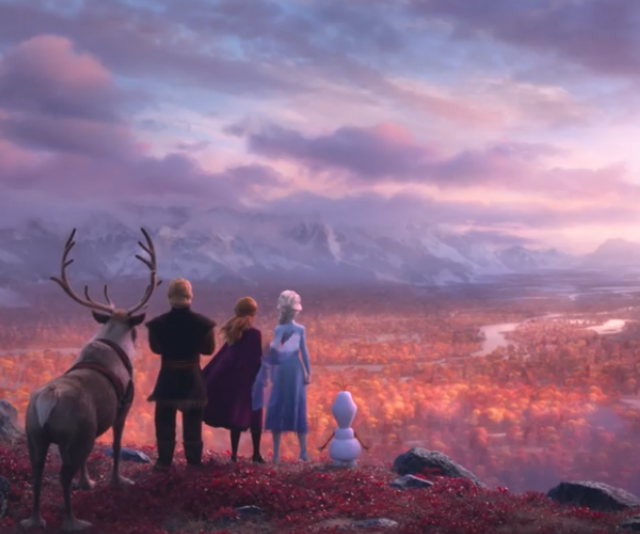 We're not in Arendelle anymore. *Image: Disney.*