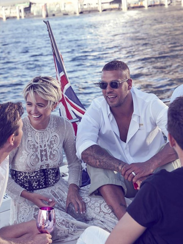 Where was our cruise invite Jesinta and Buddy? *(Image: Instagram @jesinta_franklin)*