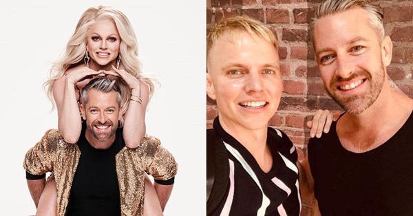 Dancing With The Stars Meet Courtney Act And Shane Jenek Tv Week