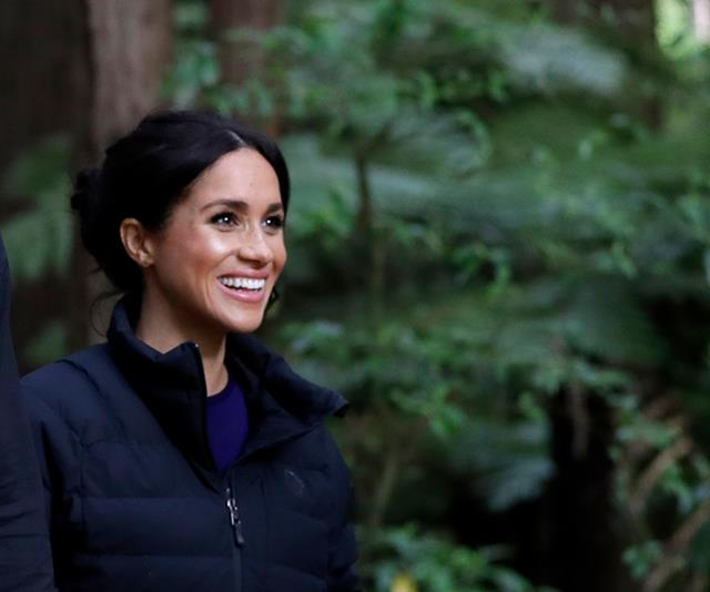 Meghan Markle is a big advocate for natural and sustainable products. *(Image: Getty)*