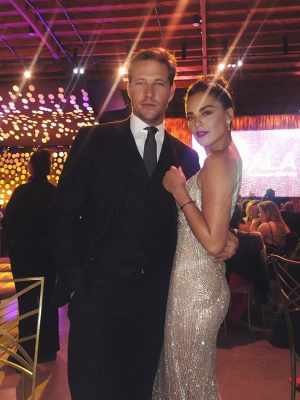 Olympia and Luke look like Hollywood stars. *(Image: Instagram @olympiavalance)*