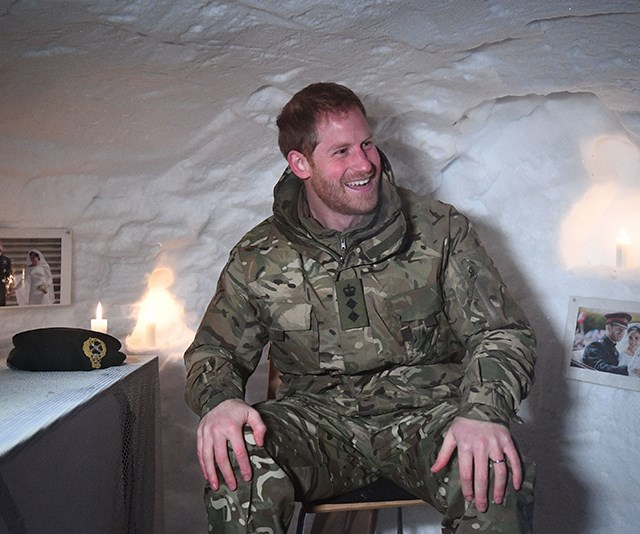 Prince Harry was surprised with a Valentine's Day shrine to Meghan. *(Image: Getty)*