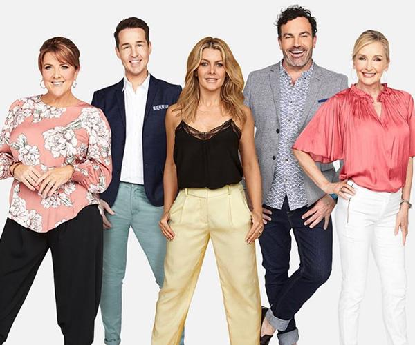 Nat is joining the *Changing Rooms* team. *(Image: Channel Ten)*