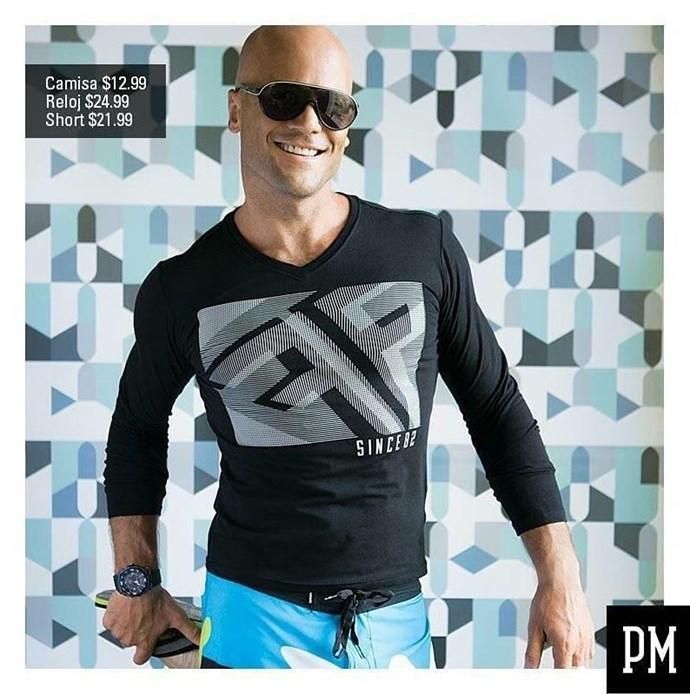 Mike modelled in El Salvador. *(Source: Instagram)*