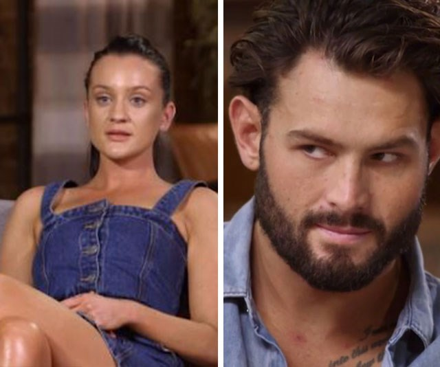 There's talk Ines and Sam's get-together may have all been for show. *(Image: Channel Nine)*