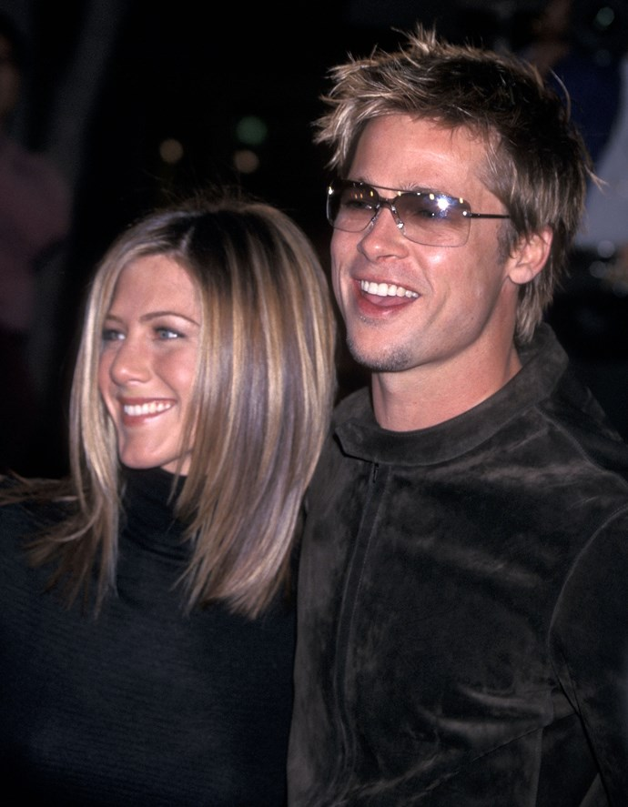 Brad and Jen split in 2005 after 11 years together. *(Source: Getty)*