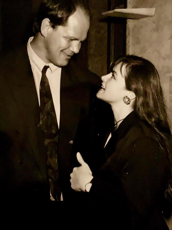 Lisa's throwback photo makes us believe in love! *(Image: Instagram @lisa_wilkinson)*