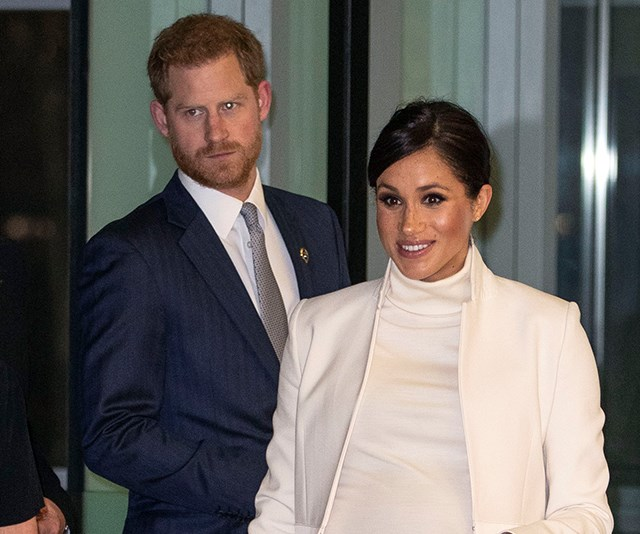 Harry looked aloof and forlorn last week. *(Image: Getty Images)*