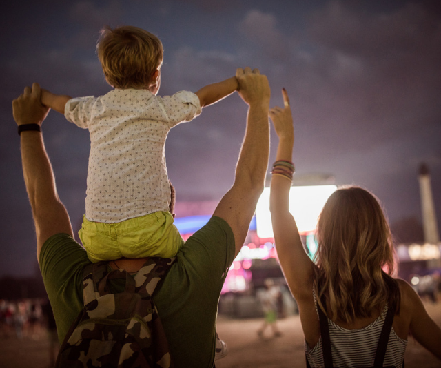 Music festivals are a great way to make lasting memories. fun. *Image: Getty.*