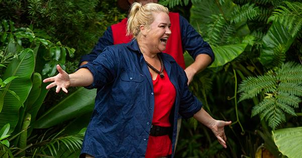 I'm A Celebrity's Yvie Jones was thrilled to make it to the top two on the show. *(Image: Network Ten)*