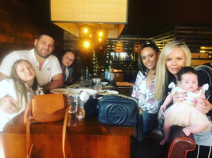 To celebrate Brendan's 38th birthday, he shared a picture of the entire family of six celebrating together. *(Image: Instagram @brendanfevola25)*