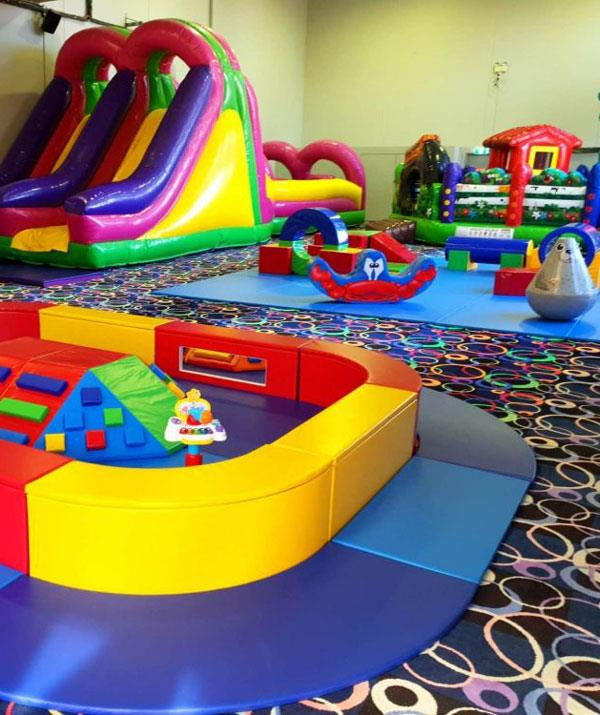 Stomping Ground cleverly caters for tiny tots and big kids. *(Image: Stomping Ground)*