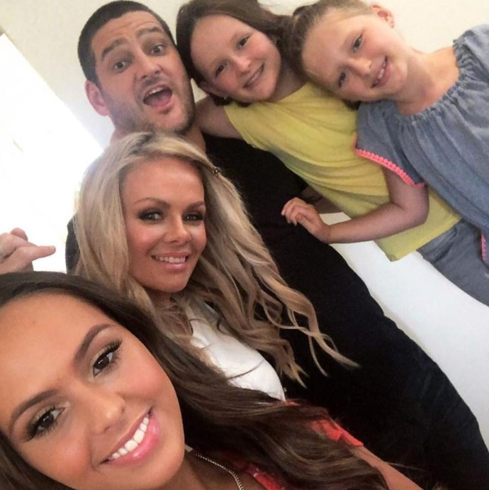 The Fevs have nailed this family selfie thing. *(Image: Instagram @alexfevolamakeup)*