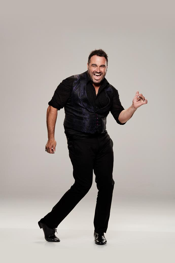 "**MIGUEL MAESTRE, TV PERSONALITY AND CHEF, 39** <br><br> *The Living Room* star might be unrecognisable by the time he's finished with *DWTS*. Father-of-two Miguel says during rehearsals for the show he lost a staggering 6.5kg — and counting! <br><br> ""It's amazing how in a couple of weeks I've found myself lighter on my feet,"" Miguel, 39, tells TV WEEK. ""I've lost 6.5kg already!"" <br><br> Weighing in at 115kg at the start of the pre-show training, Miguel admits his biggest worry coming into the show was always his fitness. <br><br> ""Fitness will be my biggest enemy, as I'm flat-footed and heavy,"" he explains. ""I think people who are very fit have an advantage. Michelle Bridges is so fit — she's a weapon."""