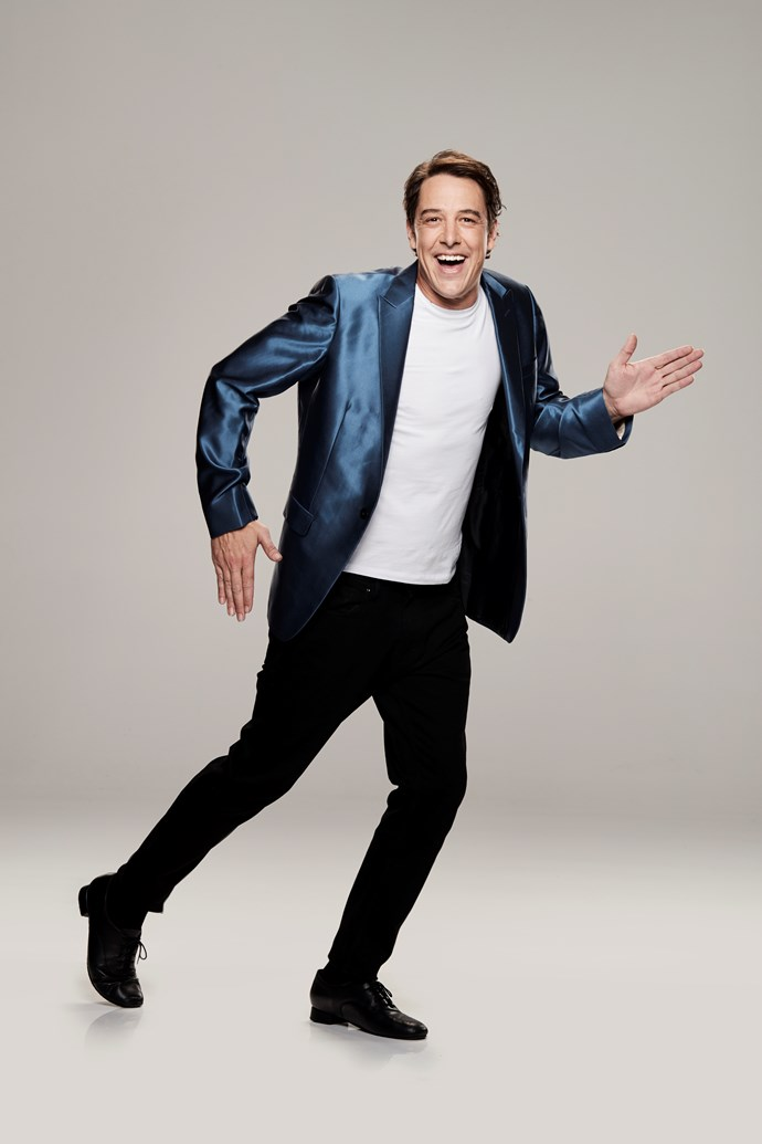 """**SAMUEL JOHNSON, ACTOR, 40** <br><br> He describes himself as a """"giraffe spaghetti man"""" when dancing, but there's no denying actor Samuel is trying hard. <br><br> """"It's extraordinary how disciplined dancing is,"""" the 41-year-old tells TV WEEK. """"I'm trying to prove that white men can dance, but I think I might be running a fool's errand!"""" <br><br> Sam — who is [raising money for his charity Love Your Sister](https://www.nowtolove.com.au/reality-tv/dancing-with-the-stars/dancing-with-the-stars-samuel-johnson-54202
