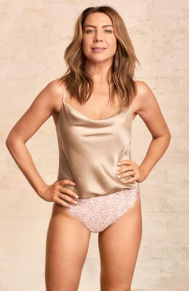 Kate has stripped down for a new Jockey campaign, and she looks incredible! *(Image: Jockey)*