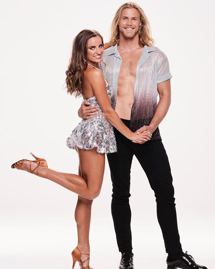 Lily and Jett on *Dancing With The Stars*. *(Image: Channel 10)*
