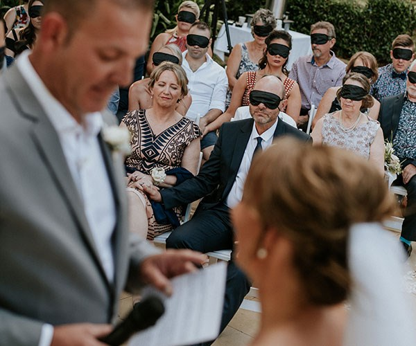 Our guests experienced the vows as I did.