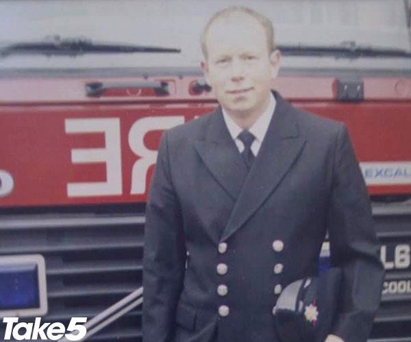 Firefighter Neil was concerned about a rash 'down there'...