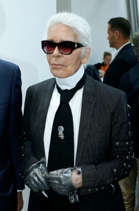 Karl Lagerfeld has passed away aged 85. *(Image: Getty)*